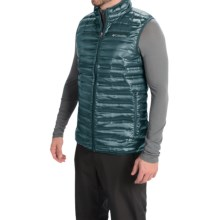 Columbia Sportswear Flash Forward Down Vest - 650 Fill Power (For Men) in Everblue - Closeouts