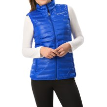Columbia Sportswear Flash Forward Down Vest - 650 Fill Power (For Women) in Blue Macaw - Closeouts