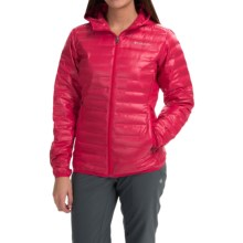Columbia Sportswear Flash Forward Hooded Down Jacket - 650 Fill Power (For Women) in Ruby Red - Closeouts