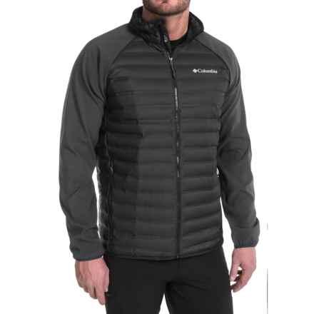 Columbia Sportswear Flash Forward Hybrid Down Jacket - 650 Fill Power (For Men) in Black - Closeouts