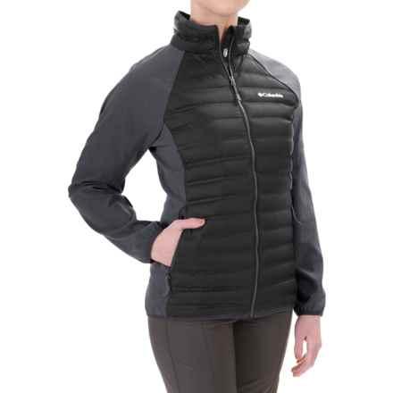 Columbia Sportswear Flash Forward Hybrid Down Jacket - 650 Fill Power (For Women) in Black - Closeouts