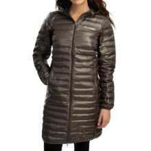 Columbia Sportswear Flash Forward Long Down Jacket - 650 Fill Power (For Women) in Mineshaft - Closeouts