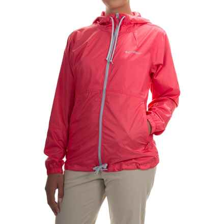 Columbia Sportswear Flash Forward Omni-Shield® Windbreaker Jacket (For Women) in Bright Geranium - Closeouts