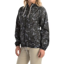 Columbia Sportswear Flash Forward Printed Omni-Shield® Windbreaker Jacket (For Women) in Black Print - Closeouts