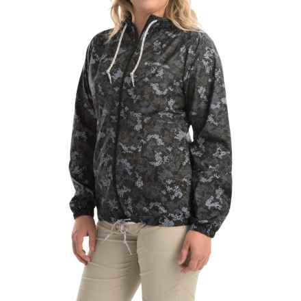 Columbia Sportswear Flash Forward Printed Omni-Shield® Windbreaker Jacket (For Women) in Black Print - Closeouts
