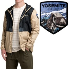 Columbia Sportswear Flashback Windbreaker Jacket - National Park Edition (For Men) in Black/British Tan - Closeouts