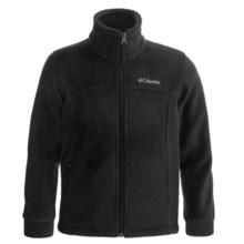 Columbia Sportswear Flattop Mountain Fleece Jacket (For Boys) in Black - Closeouts
