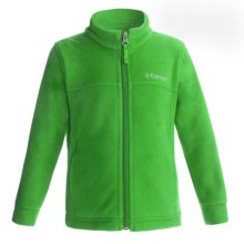 Columbia Sportswear Flattop Mountain Fleece Jacket (For Toddler Boys) in Fuse Green - Closeouts