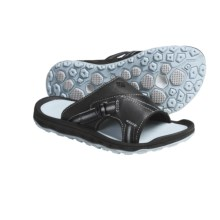 Columbia Sportswear Flatwater Sandals - Leather (For Women) in Castle Rock/Winter Sky - Closeouts