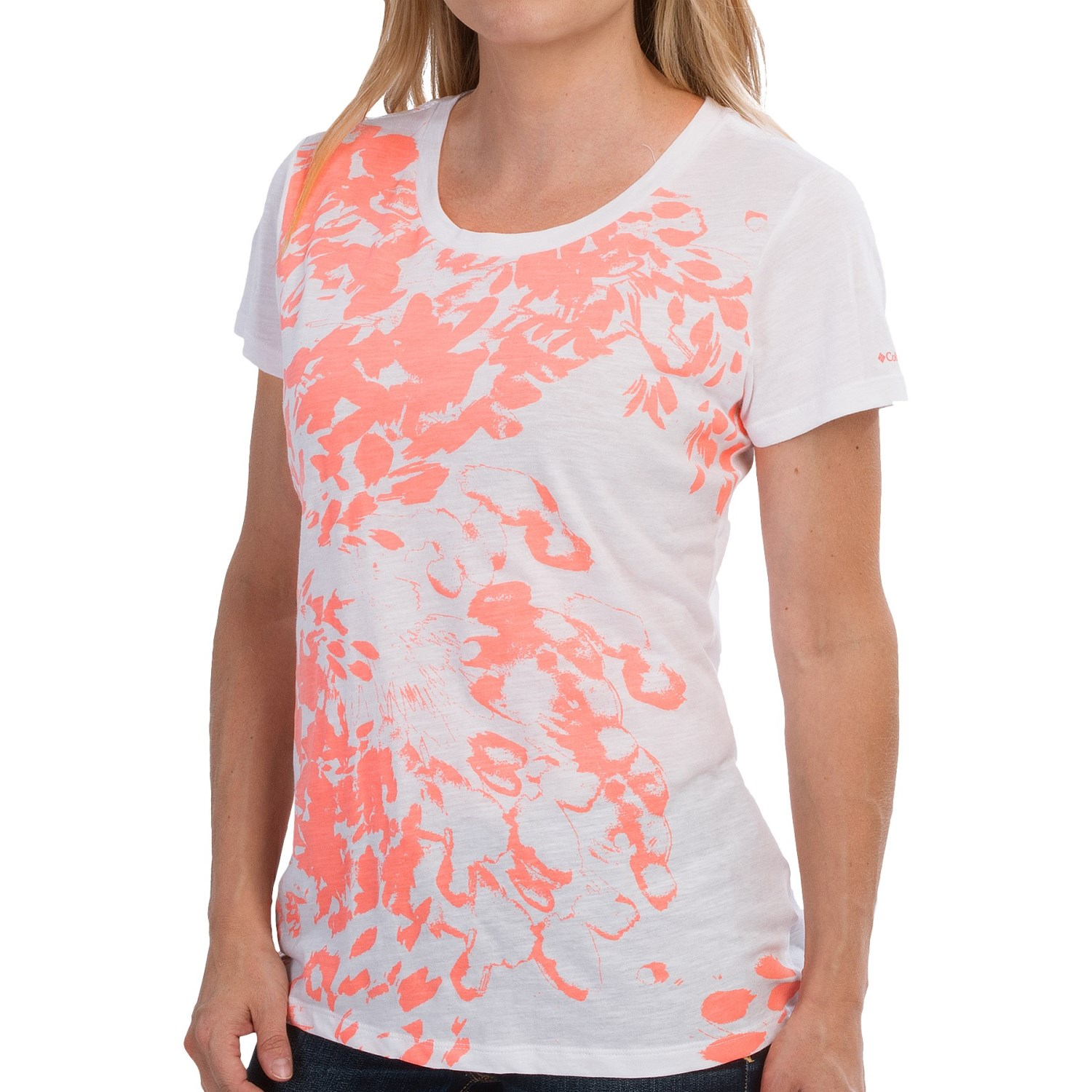 Columbia sportswear flawless floral t shirt for women for White floral shirt womens