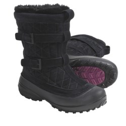 Columbia Sportswear Flurry Snow Boots - Insulated (For Women) in Mud/British Tan