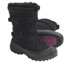 Columbia Sportswear Flurry Winter Boots - Insulated (For Women) in Black/Tarte - Closeouts