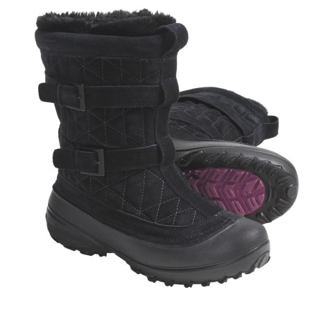 Columbia Sportswear Flurry Winter Boots - Insulated (For Women) in Black/Tarte