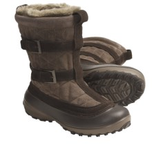 Columbia Sportswear Flurry Winter Boots - Insulated (For Women) in Mud/British Tan - Closeouts