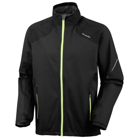 Columbia Sportswear Flyin' Dry Omni-Dry® Shell Jacket (For Men) in Black