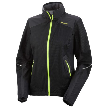 Columbia Sportswear Flyin Dry Shell Jacket - Waterproof (For Women) in Black