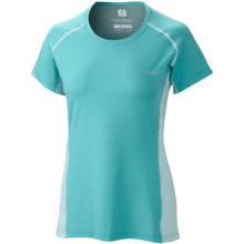 Columbia Sportswear Freeze Degree III Shirt - UPF 30, Short Sleeve (For Women) in Geyser - Closeouts