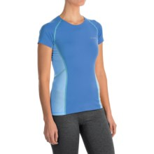 Columbia Sportswear Freeze Degree III Shirt - UPF 30, Short Sleeve (For Women) in Harbor Blue - Closeouts