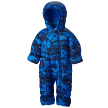 Columbia Sportswear Frosty Freeze Bunting - Insulated (For Infants) in Hyper Blue Print - Closeouts