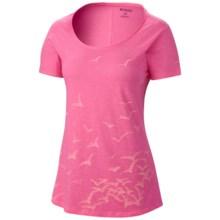 Columbia Sportswear Full Flight T-Shirt - Short Sleeve (For Women) in Tropic Pink - Closeouts