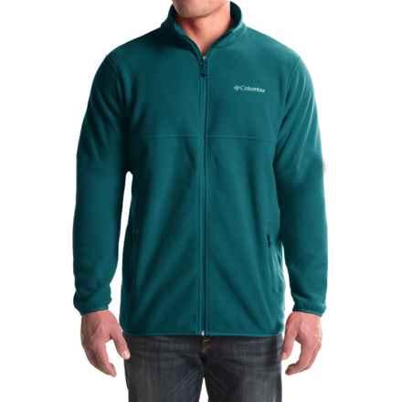 Columbia Sportswear Fuller Ridge Fleece Jacket (For Tall Men) in Deep Water - Closeouts