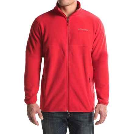 Columbia Sportswear Fuller Ridge Fleece Jacket (For Tall Men) in Mountain Red - Closeouts