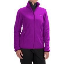 Columbia Sportswear Fuller Ridge Polartec® 200 Fleece Jacket - Full Zip (For Women) in Bright Plum - Closeouts