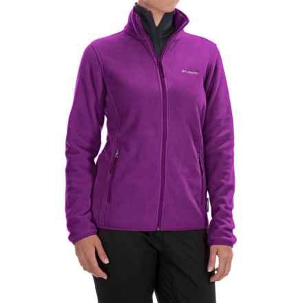 Columbia Sportswear Fuller Ridge Polartec® 200 Fleece Jacket - Full Zip (For Women) in Plum - Closeouts