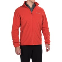 Columbia Sportswear Fuller Ridge Polartec® Fleece Jacket (For Men) in Super Sonic - Closeouts