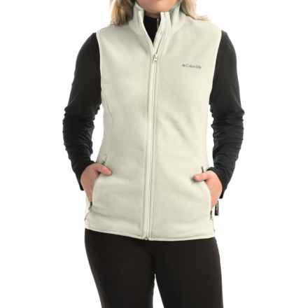 Columbia Sportswear Fuller Ridge Polartec® Fleece Vest (For Women) in Chalk - Closeouts