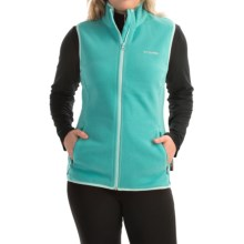 Columbia Sportswear Fuller Ridge Polartec® Fleece Vest (For Women) in Miami - Closeouts