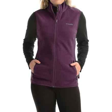 Columbia Sportswear Fuller Ridge Polartec® Fleece Vest (For Women) in Purple Dahlia - Closeouts
