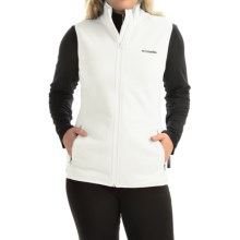 Columbia Sportswear Fuller Ridge Polartec® Fleece Vest (For Women) in Sea Salt - Closeouts