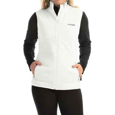 Columbia Sportswear Fuller Ridge Polartec® Fleece Vest (For Women) in Sea Salt - Closeouts