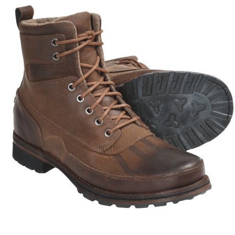 Columbia Sportswear Fulton Boots - Leather (For Men) in Chipmunk