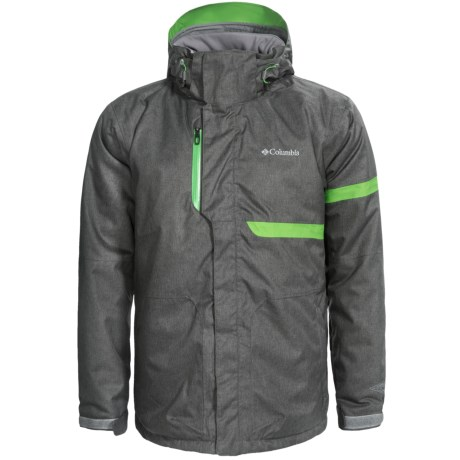 Columbia Sportswear Fusion Exact Omni-Heat® Ski Jacket - Waterproof, Insulated (For Men) in Dark Compass