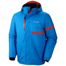 Columbia Sportswear Fusion Exact Omni-Heat® Ski Jacket - Waterproof, Insulated (For Men) in Dark Compass - Closeouts
