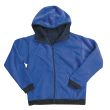 Columbia Sportswear Galaxy Hoodie Sweatshirt - Reversible, Fleece (For Boys) in Azul - Closeouts