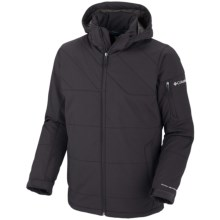 Columbia Sportswear Gate Racer Jacket - Soft Shell (For Men) in Black - Closeouts