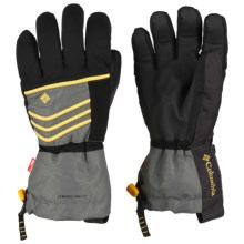 Columbia Sportswear Gathering Storm Omni-Heat® OutDry® Gloves - Waterproof, Insulated (For Men) in Castle Rock - Closeouts