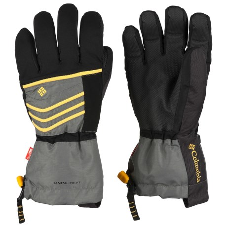 Columbia Sportswear Gathering Storm Omni-Heat® OutDry® Gloves - Waterproof, Insulated (For Men) in Castle Rock