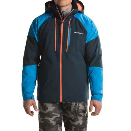 Columbia Sportswear Gitback Omni-Heat® Jacket - Insulated (For Men) in Collegiate Navy/Super Blue - Closeouts