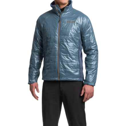 Columbia Sportswear Glacial Climb Omni-Heat® Jacket - Insulated (For Men) in Columbia Navy - Closeouts