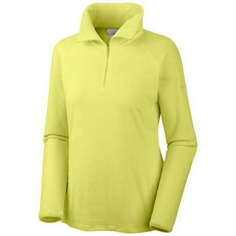 Columbia Sportswear Glacial Fleece III Fleece Pullover - Long Sleeve (For Women) in Fresh Kiwi