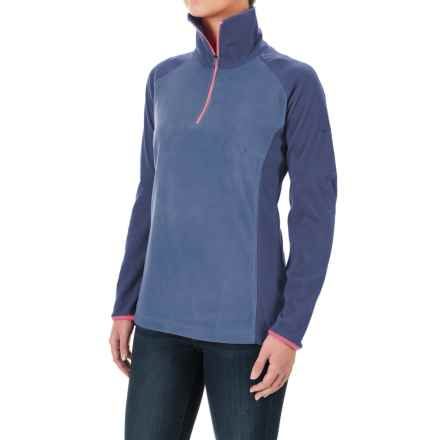 Columbia Sportswear Glacial Fleece III Fleece Shirt - Long Sleeve (For Women) in Bluebell/Nightshade - Closeouts