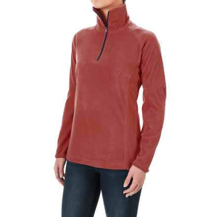 Columbia Sportswear Glacial Fleece III Fleece Shirt - Long Sleeve (For Women) in Marsala Red - Closeouts