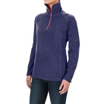 Columbia Sportswear Glacial Fleece III Fleece Shirt - Long Sleeve (For Women) in Nightshade - Closeouts