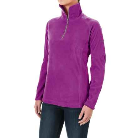 Columbia Sportswear Glacial Fleece III Fleece Shirt - Long Sleeve (For Women) in Plum - Closeouts