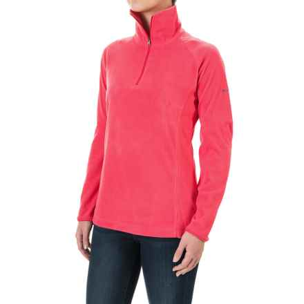 Columbia Sportswear Glacial Fleece III Fleece Shirt - Long Sleeve (For Women) in Punch Pink - Closeouts