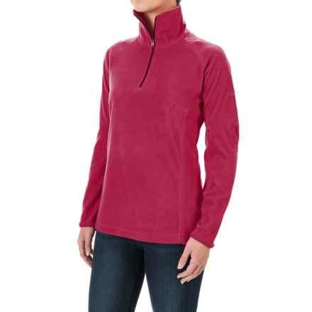 Columbia Sportswear Glacial Fleece III Fleece Shirt - Long Sleeve (For Women) in Red Orchid - Closeouts